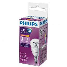 Philips Лампа LED 5.5W E14 2700K  P45 PHILIPS