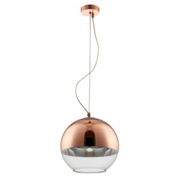 Crystal Lux Светильник подвесной CL WOODY SP1 D300 COPPER